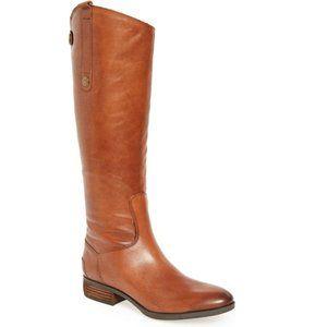 SAM EDELMAN Penny Boots Brown 6